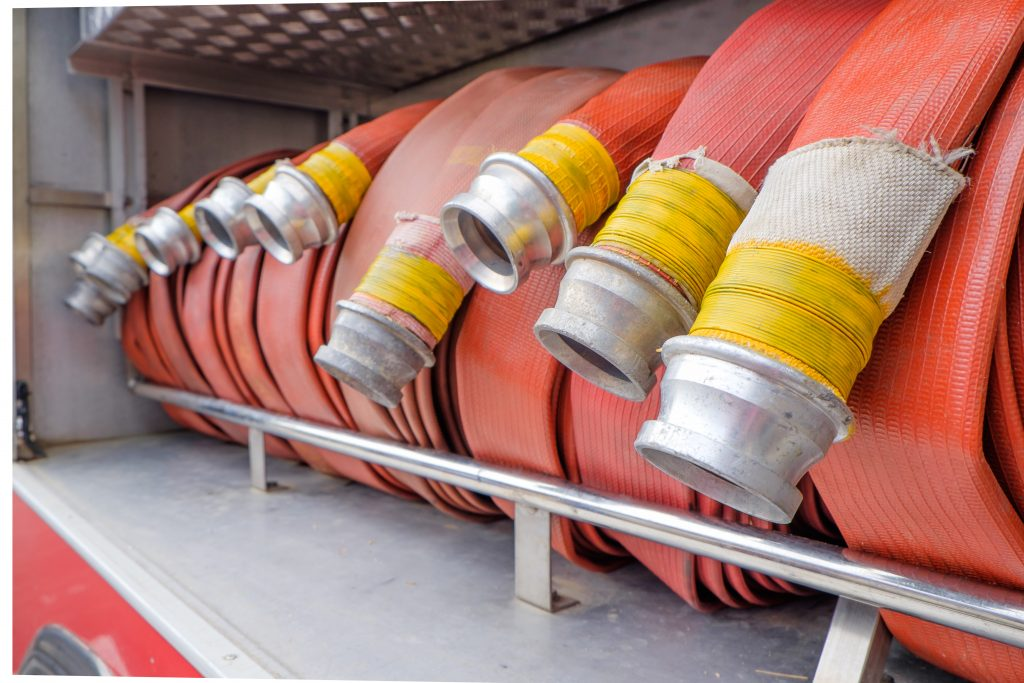Community Risk Programme fire hose